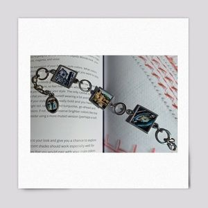 Vintage Stories In Italy Silver Charm Bracelet